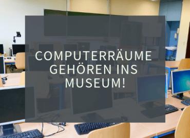 Warum Computerräume ins Museum gehören